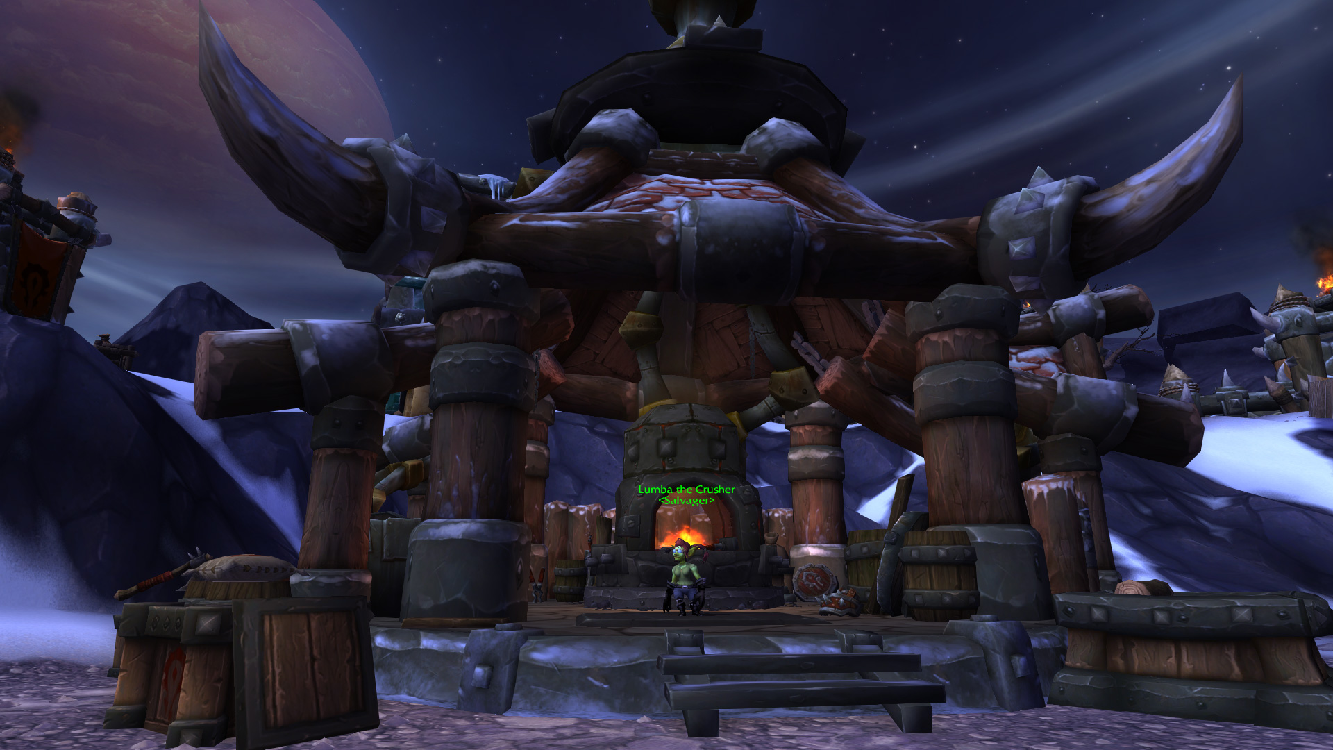Warlords of draenor garrisons salvage yard mmo champion level 3 alliance screenshots malvernweather Image collections