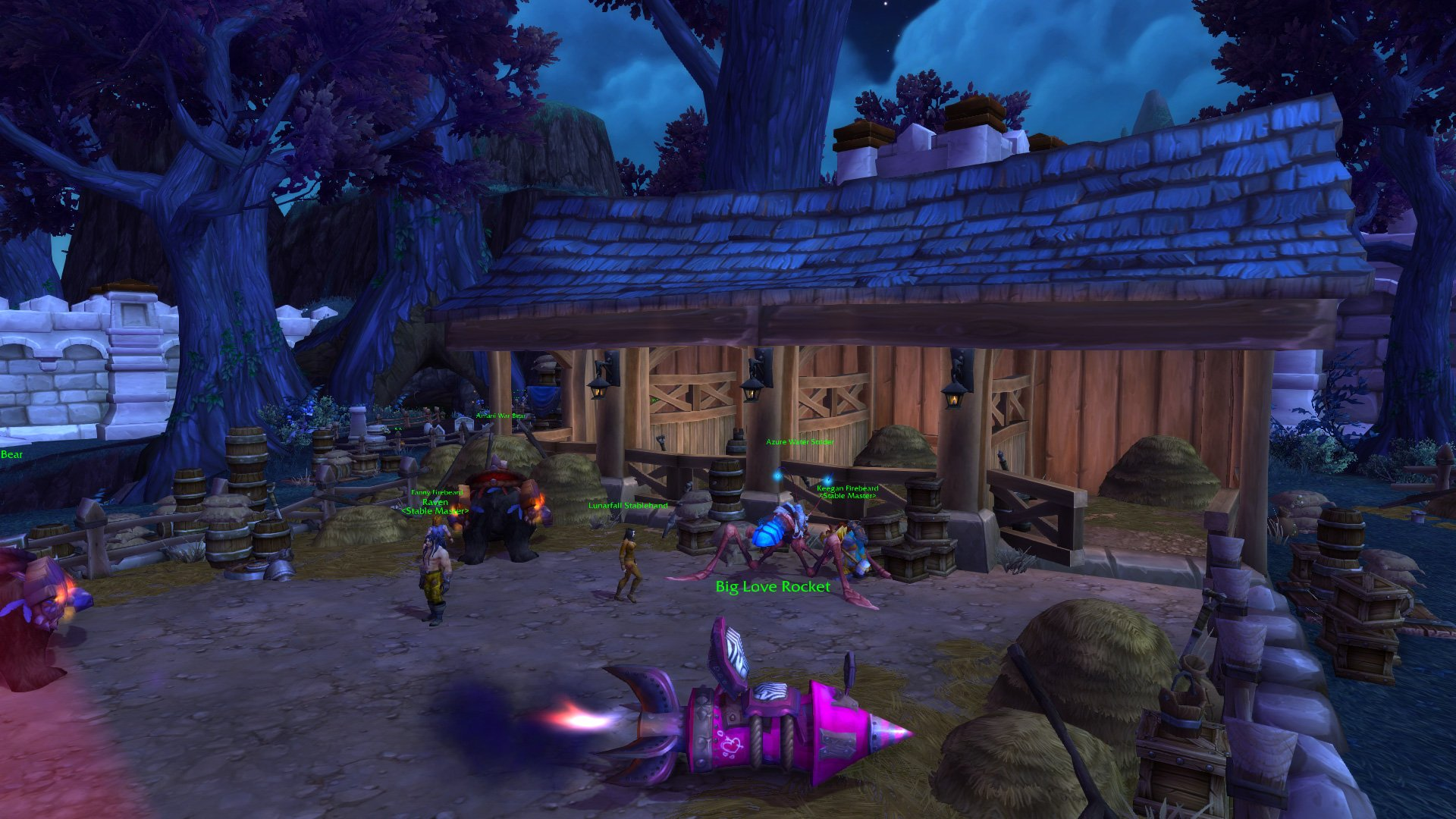 Stormwind repairs stables blazing wings updated garrison guides level 2 horde screenshots malvernweather Image collections