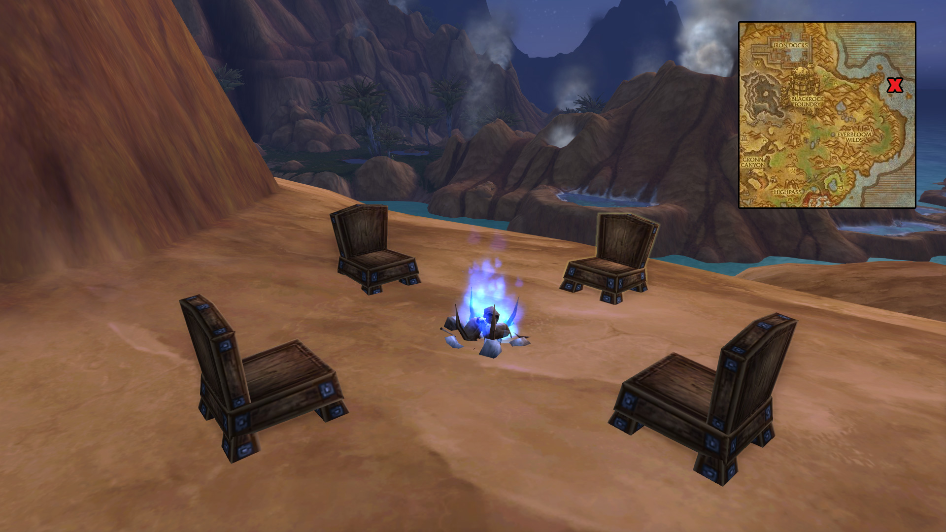 Warcraft Movie Trailer Fan Art, Blue Tweets, Gorgrond