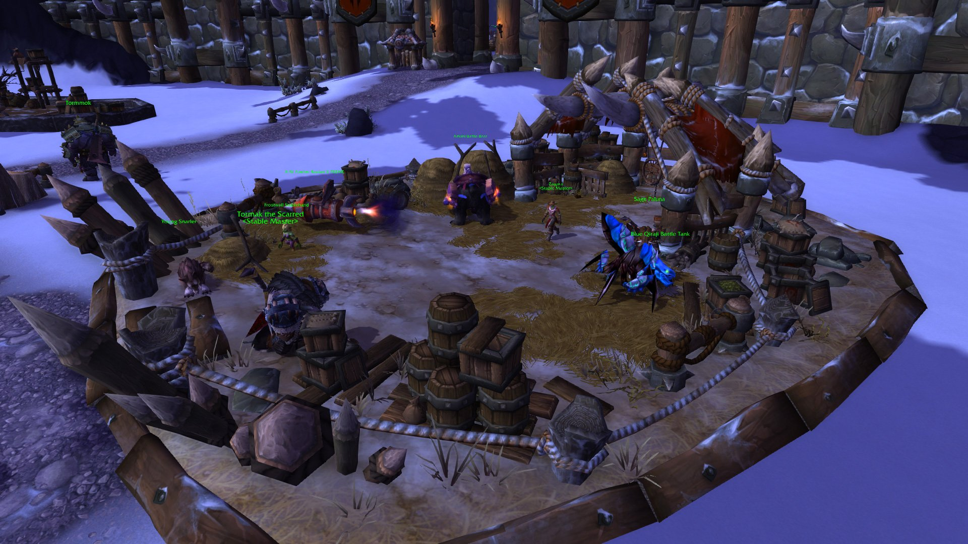 Warlords of draenor garrisons stables mmo champion level 2 alliance screenshots malvernweather Choice Image