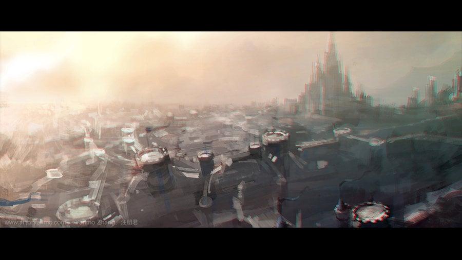 warcraft movie trailer fan art blue tweets gorgrond