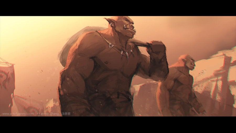 Warcraft Movie Trailer Fan Art, Blue Tweets, Gorgrond ...