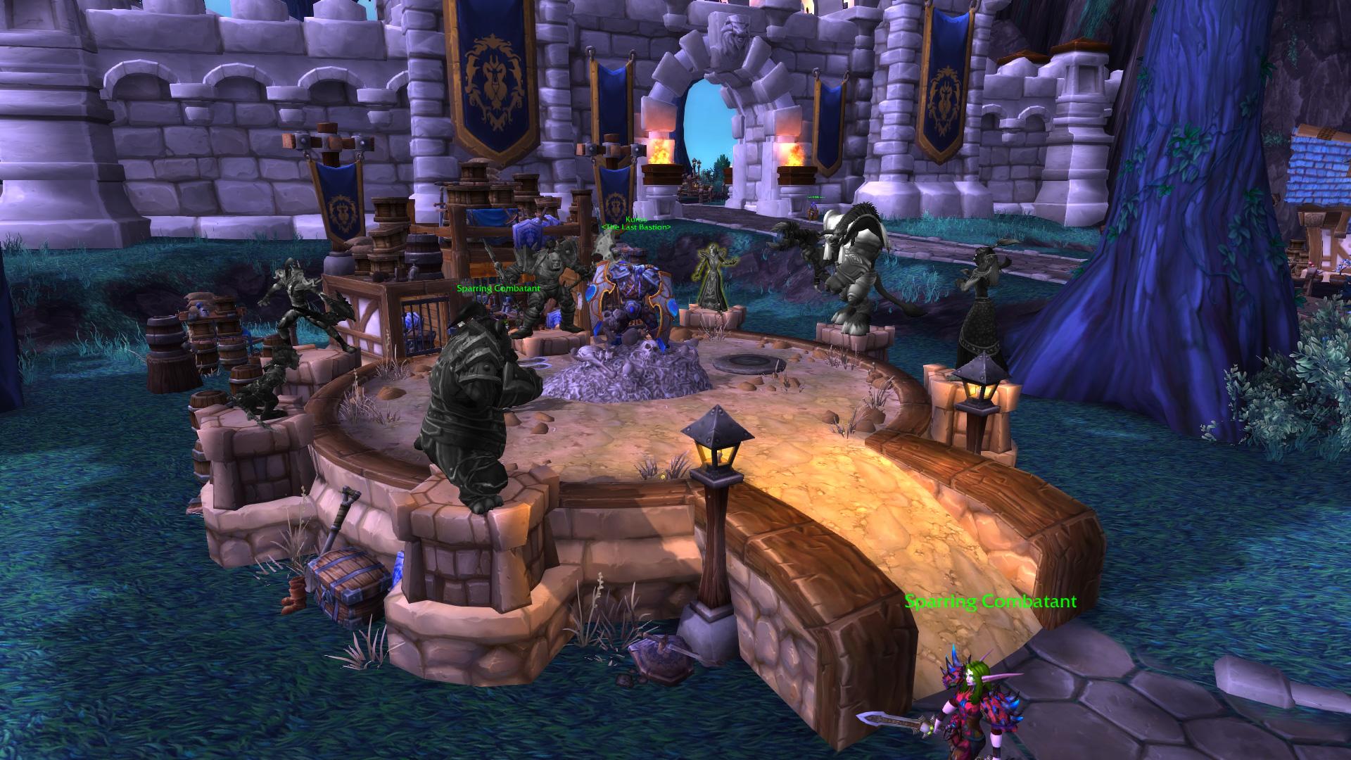 Warlords of draenor garrisons gladiators sanctum mmo champion level 2 horde screenshots malvernweather Image collections