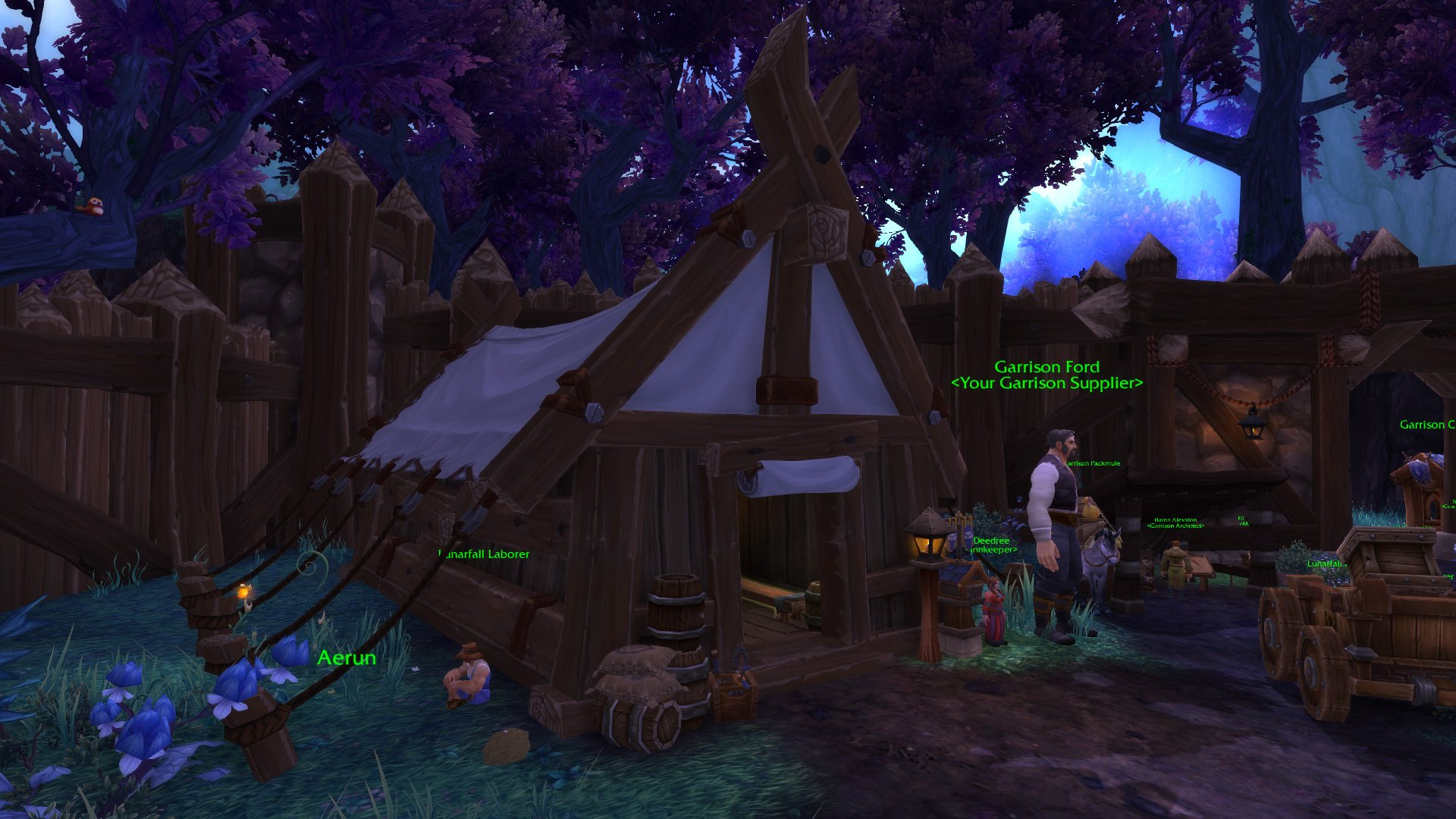 Warlords of draenor garrisons town hall great hall mmo champion malvernweather Image collections