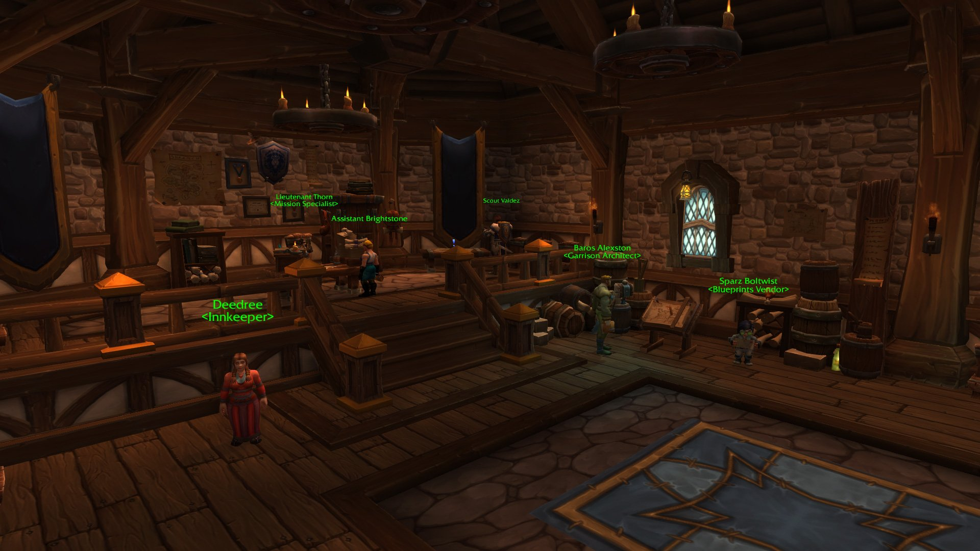 Warlords of draenor garrisons town hall great hall mmo champion level 2 horde screenshots malvernweather Gallery