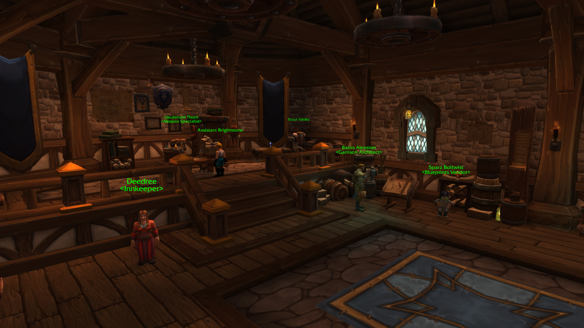 Warlords of draenor garrisons town hall great hall mmo champion level 2 horde screenshots level 3 alliance screenshots malvernweather Image collections