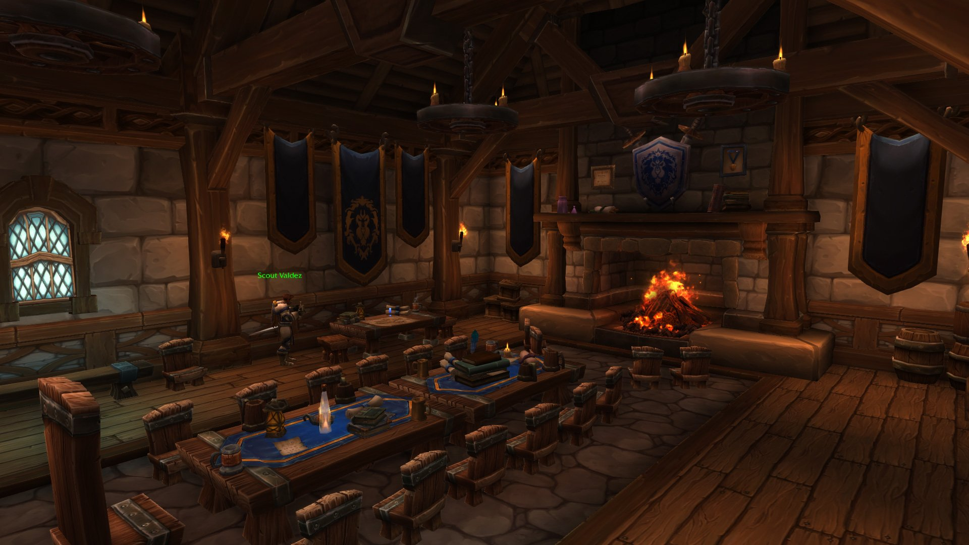 Warlords of draenor garrisons town hall great hall mmo champion level 3 horde screenshots malvernweather Choice Image
