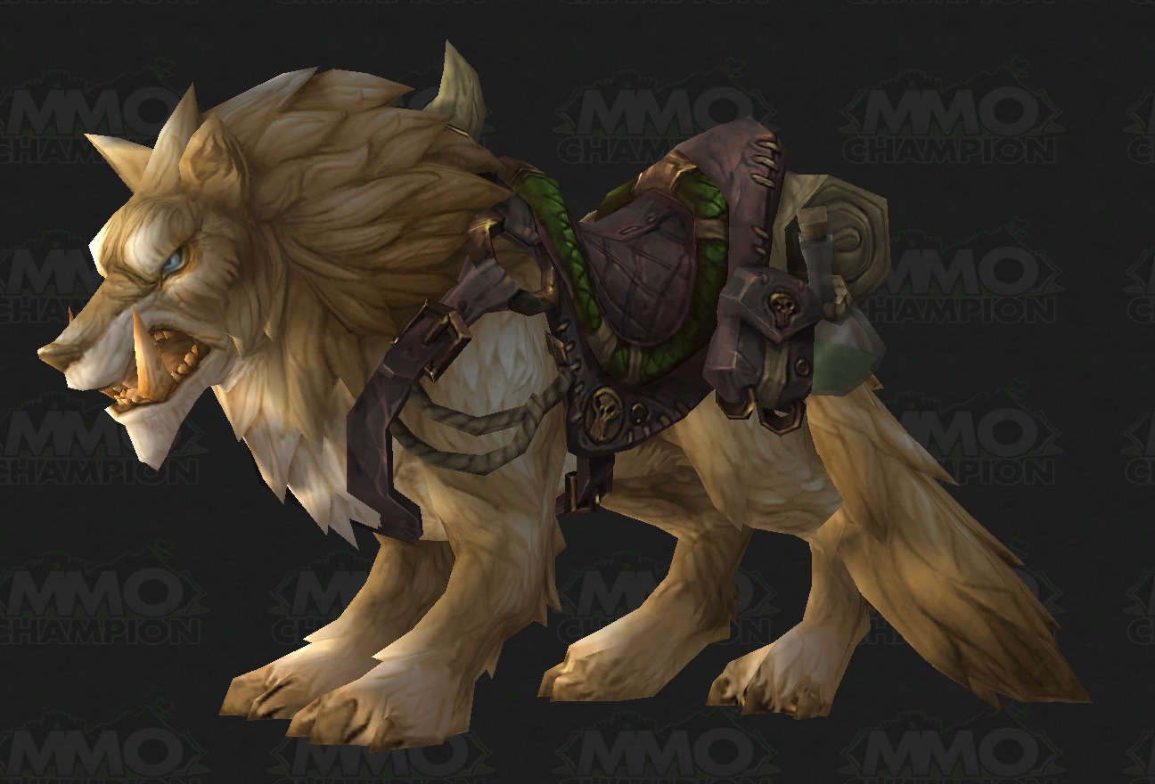Warlords Crafted Mounts Preview Lords Of War Behind The