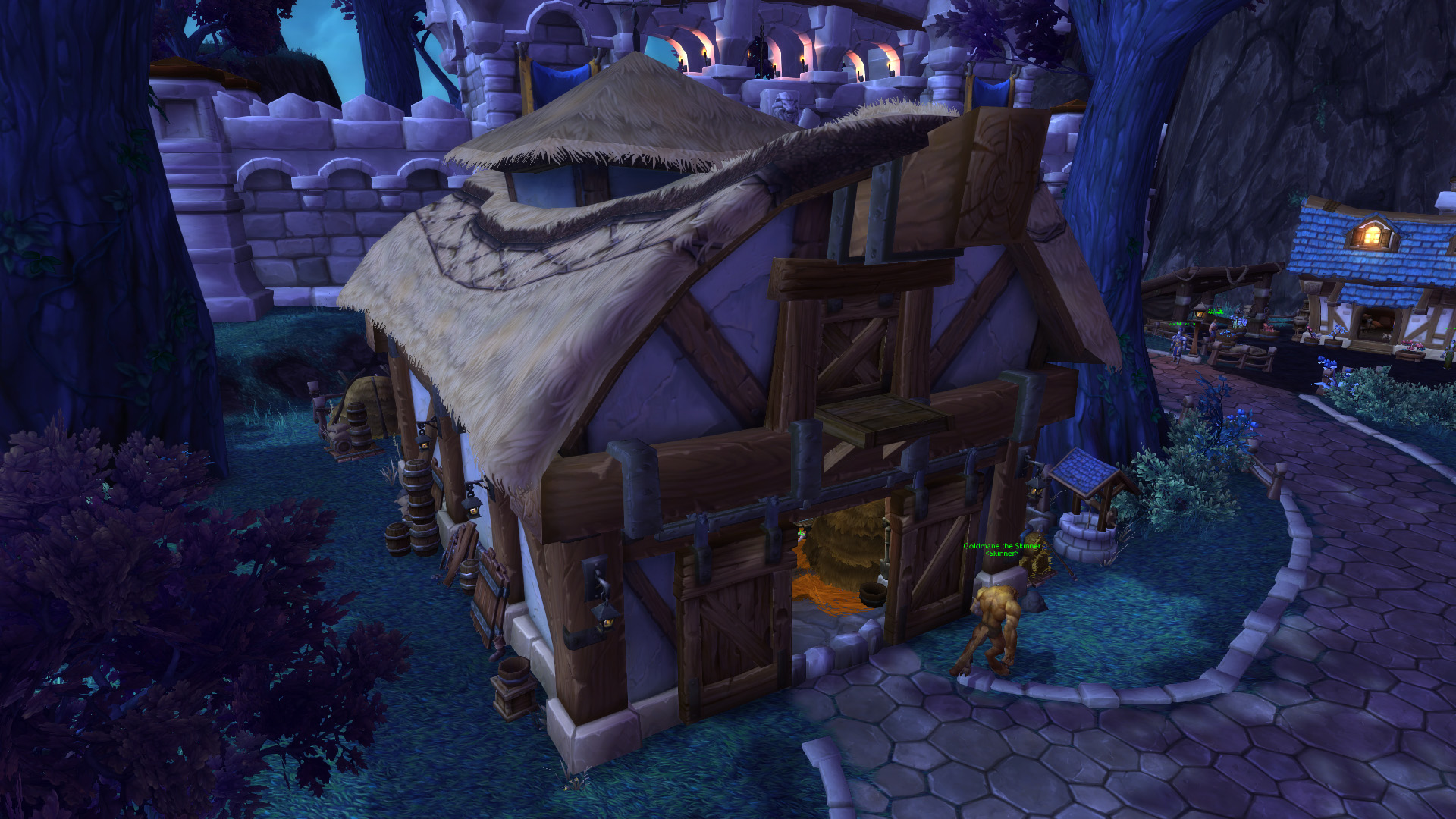 Warlords of draenor garrisons barn mmo champion malvernweather Image collections