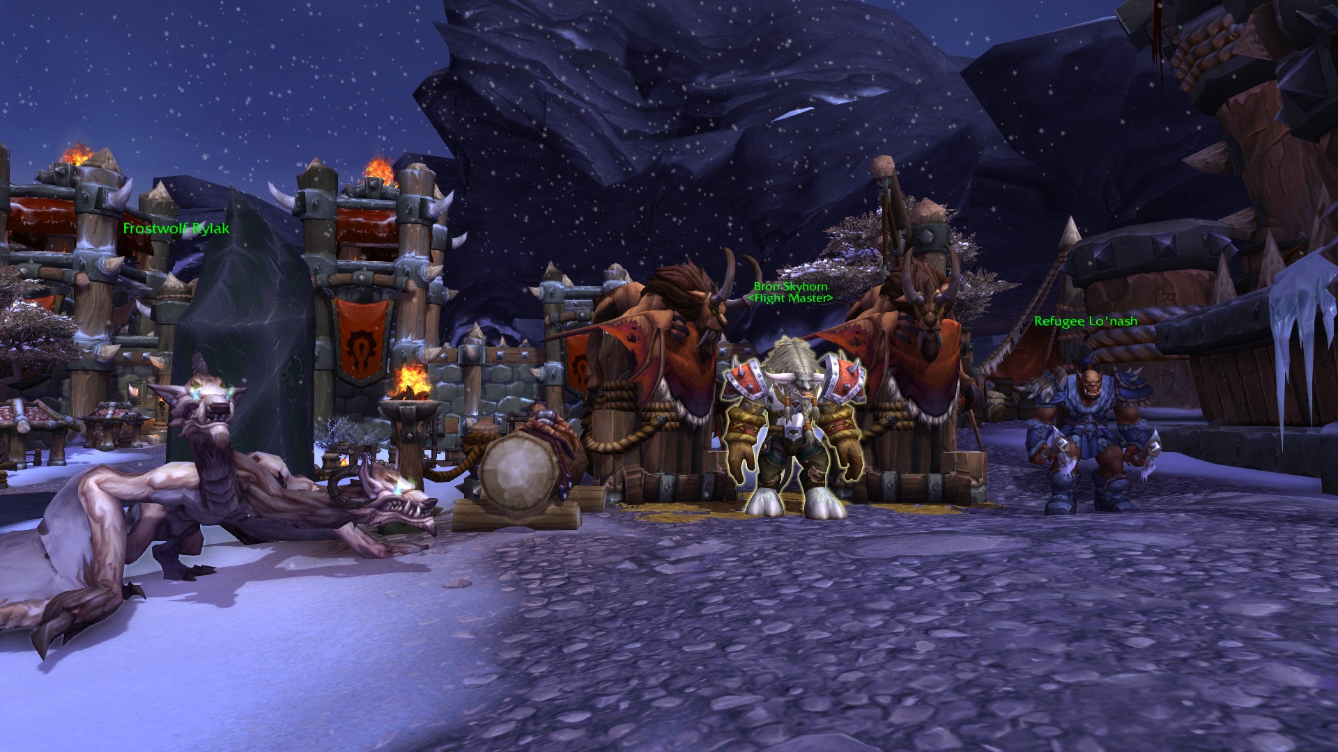 Warlords of draenor garrisons town hall great hall mmo champion level 2 horde screenshots level 3 alliance screenshots malvernweather Gallery
