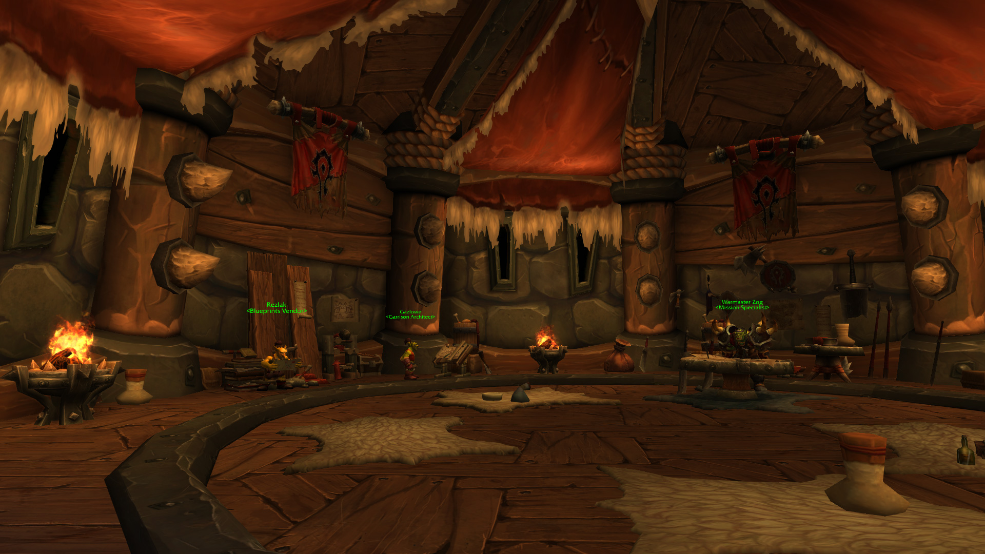 Warlords of draenor garrisons town hall great hall mmo champion level 3 alliance screenshots malvernweather Image collections