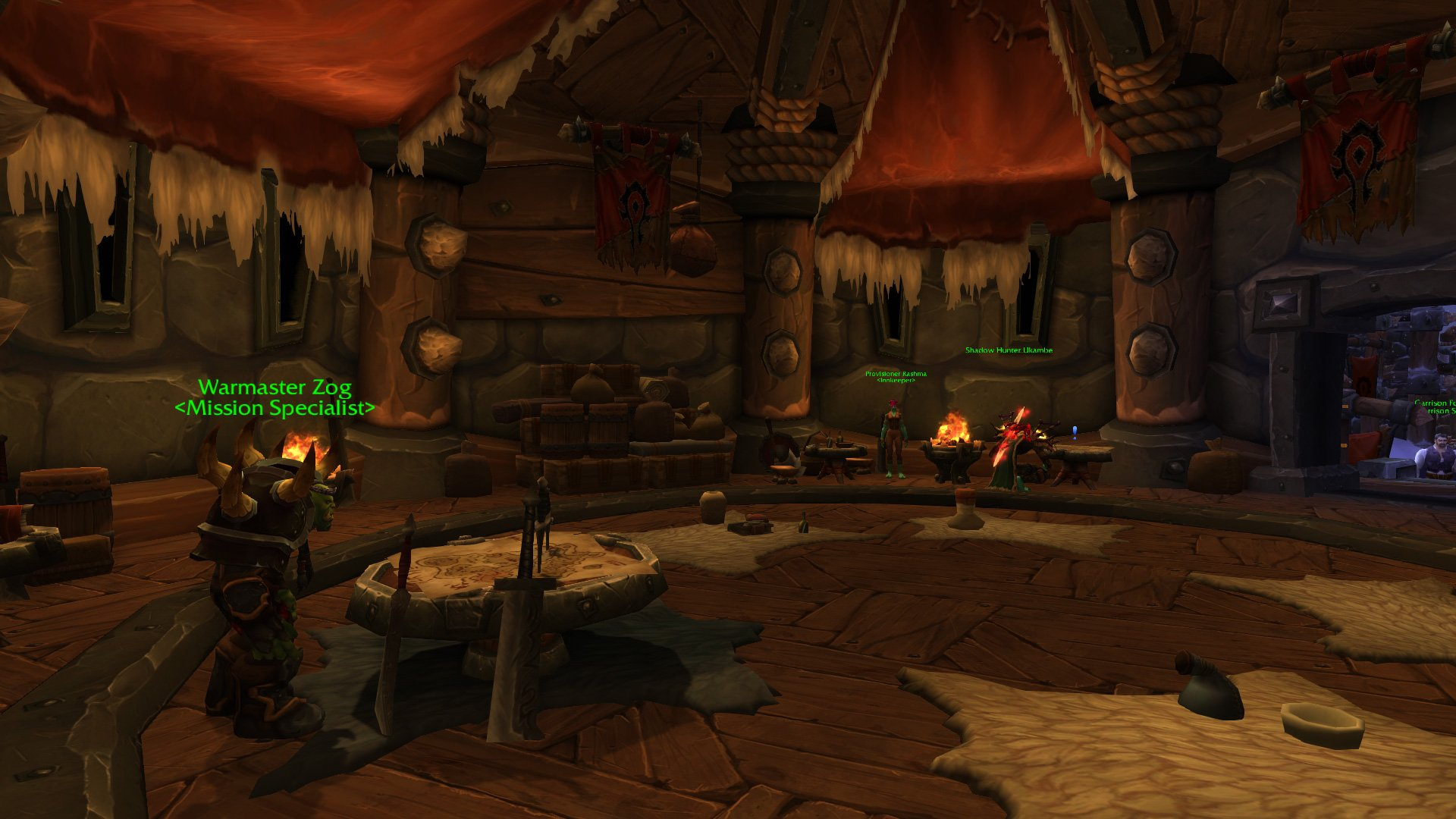 Warlords of draenor garrisons town hall great hall mmo champion level 3 alliance screenshots level 3 horde screenshots malvernweather Gallery