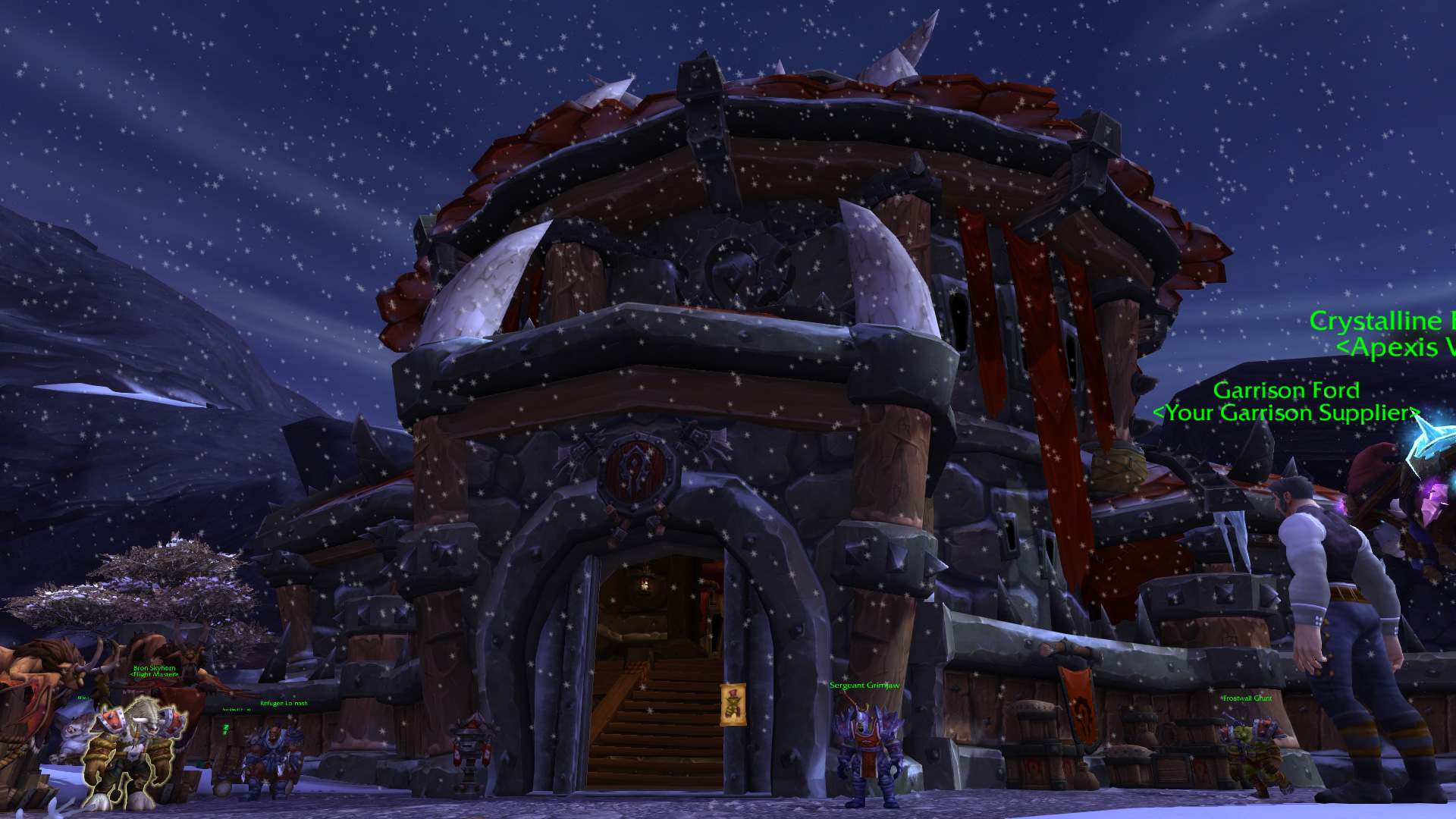 Warlords of draenor garrisons town hall great hall mmo champion level 3 horde screenshots malvernweather Image collections