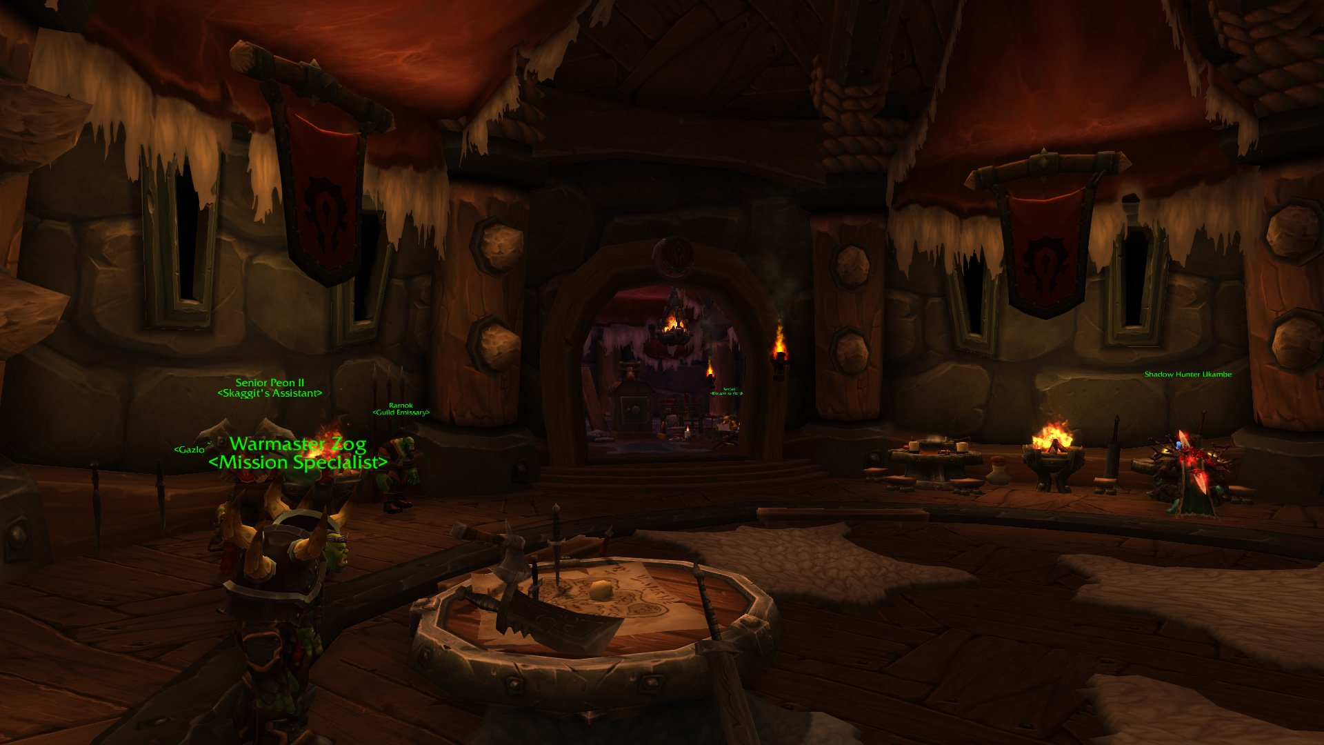 Warlords of draenor garrisons town hall great hall mmo champion level 3 horde screenshots malvernweather Gallery