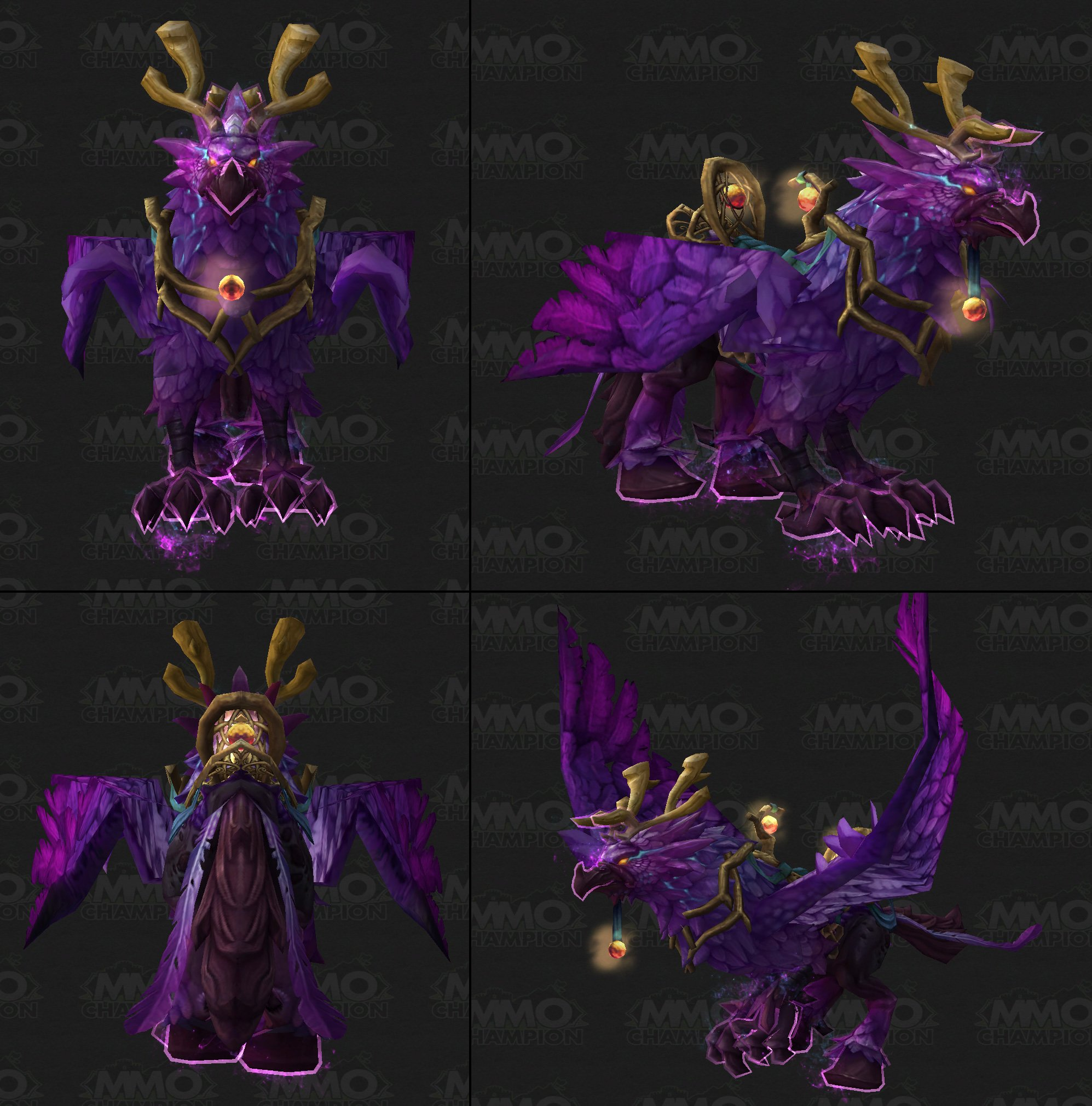 Arcane hippogryph mount fel core hound mount tweets - Heroes of the storm space lord leoric ...