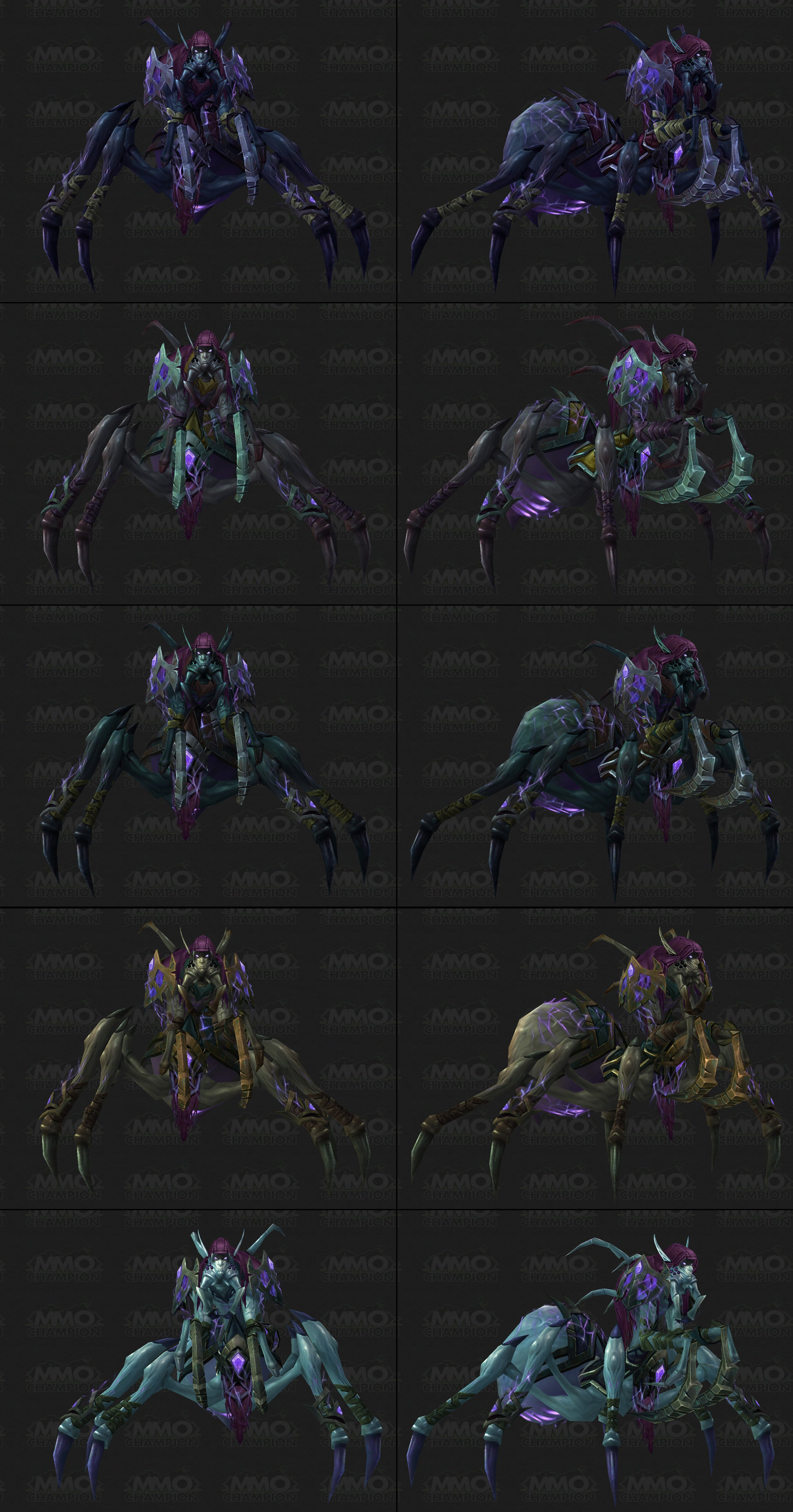 how to make mounts affected by shadowform in legion
