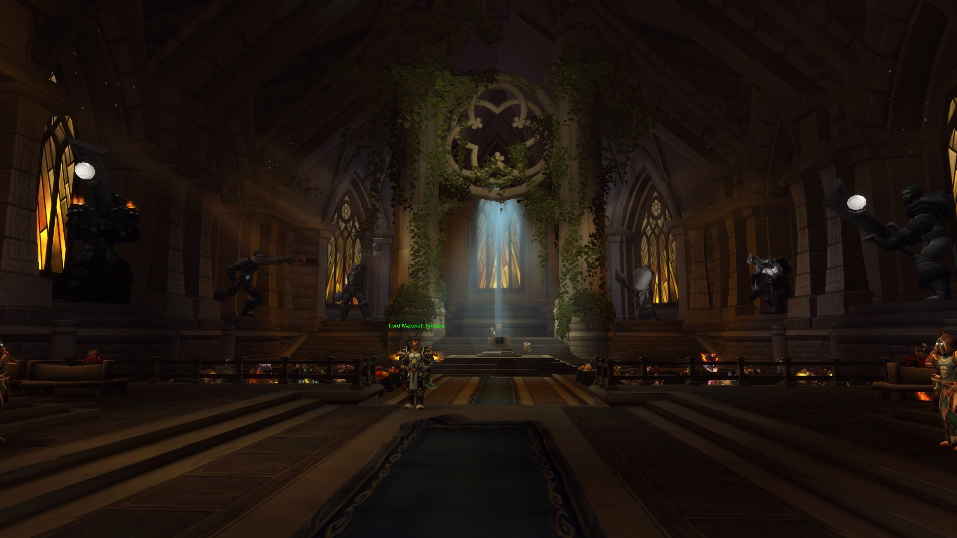 how to get to paladin class hall from dalaran