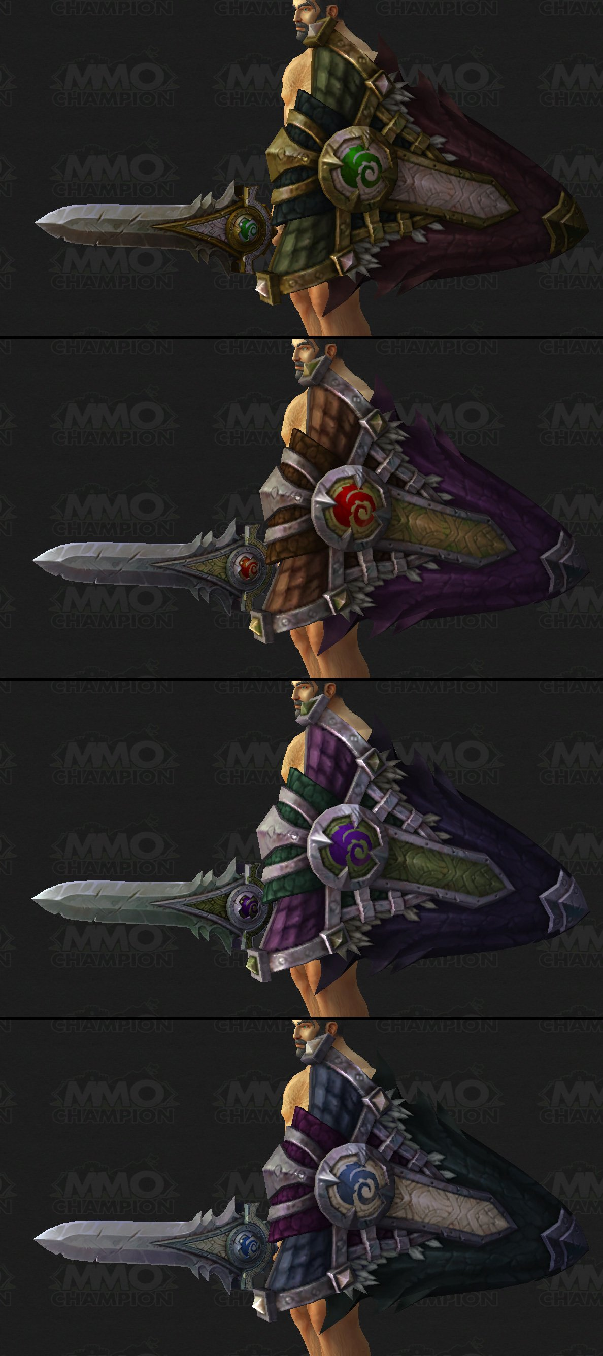 MMO-Champion]Protection Warrior Artifact, Tweets, Protection and