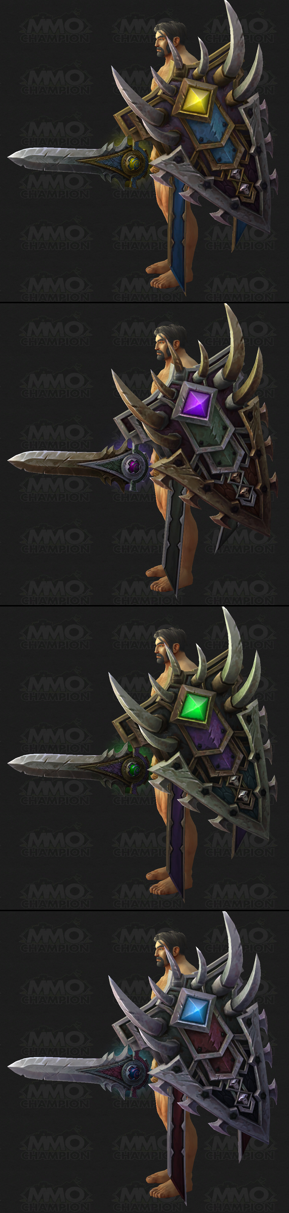 Protection Warrior Artifact, Tweets, Protection and Fury