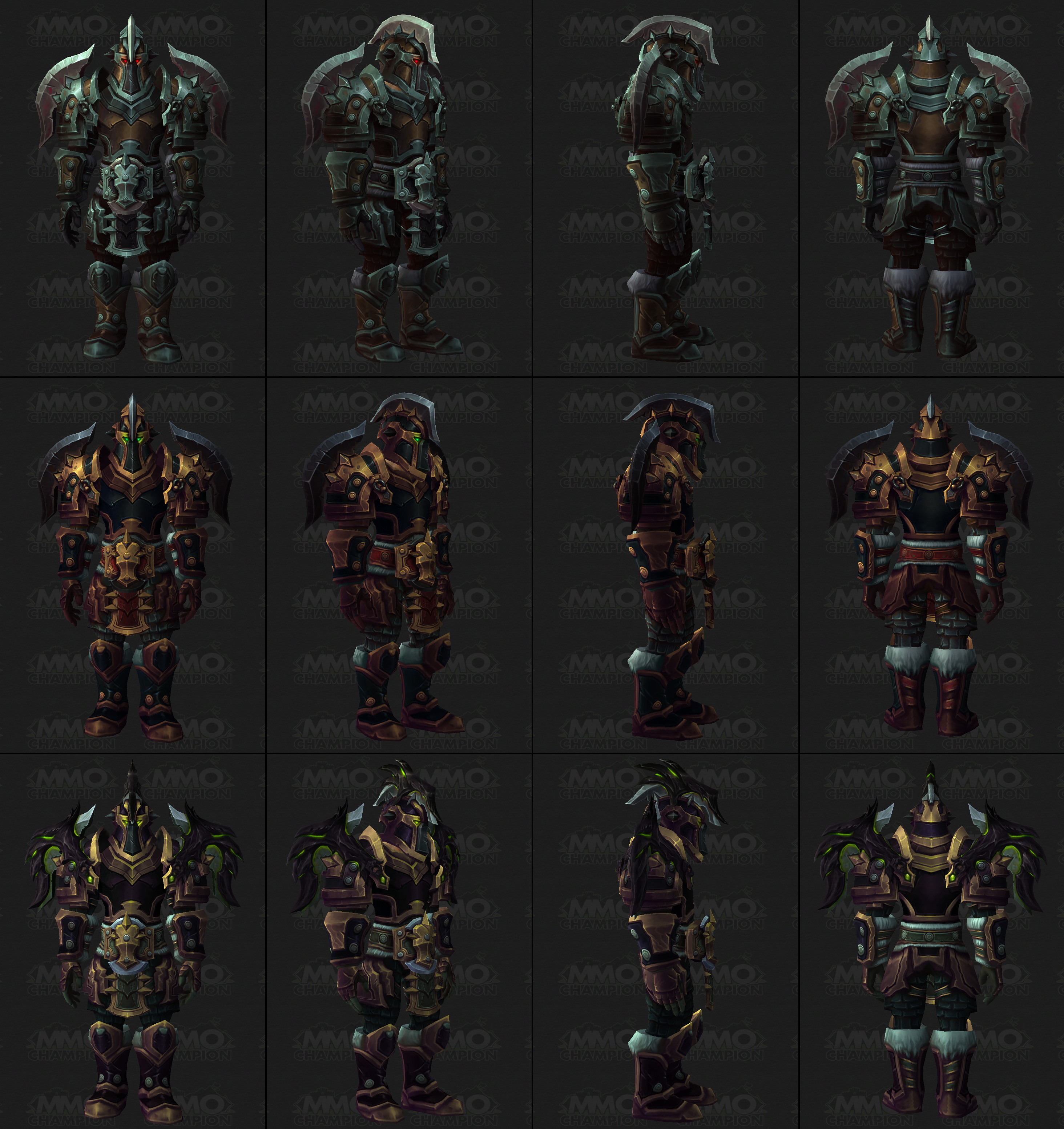Tier 18 Armor Sets - MMO-Champion