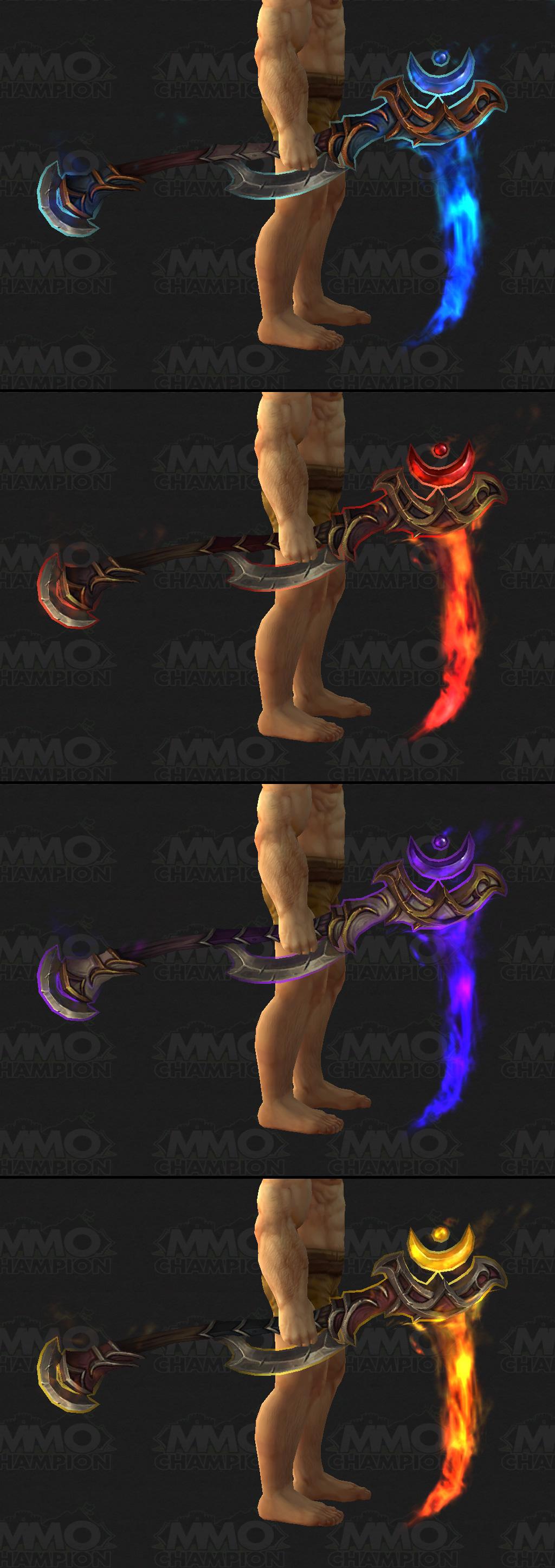 wow a heros weapon druid bug