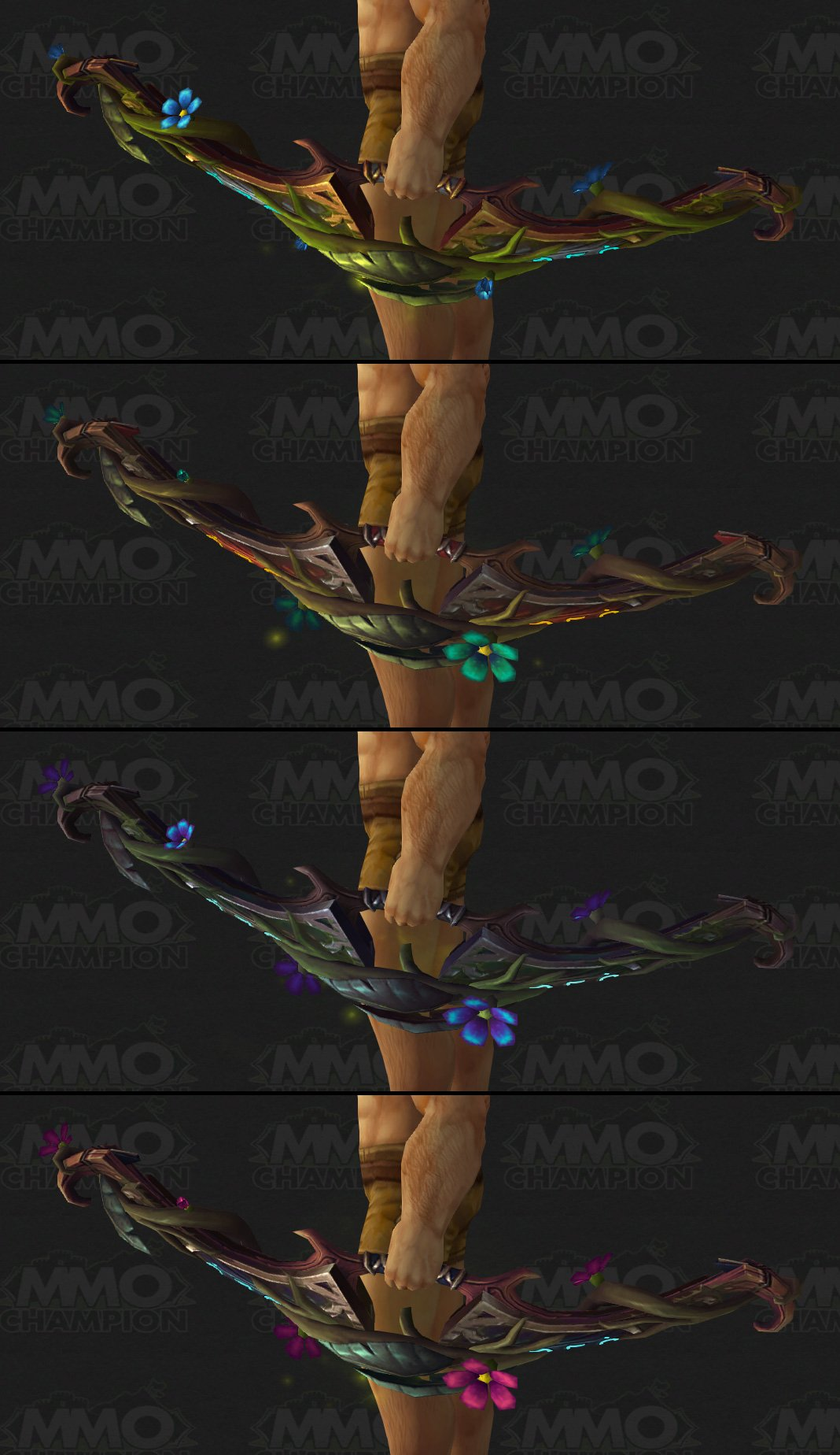 how to change artifact weapon spec