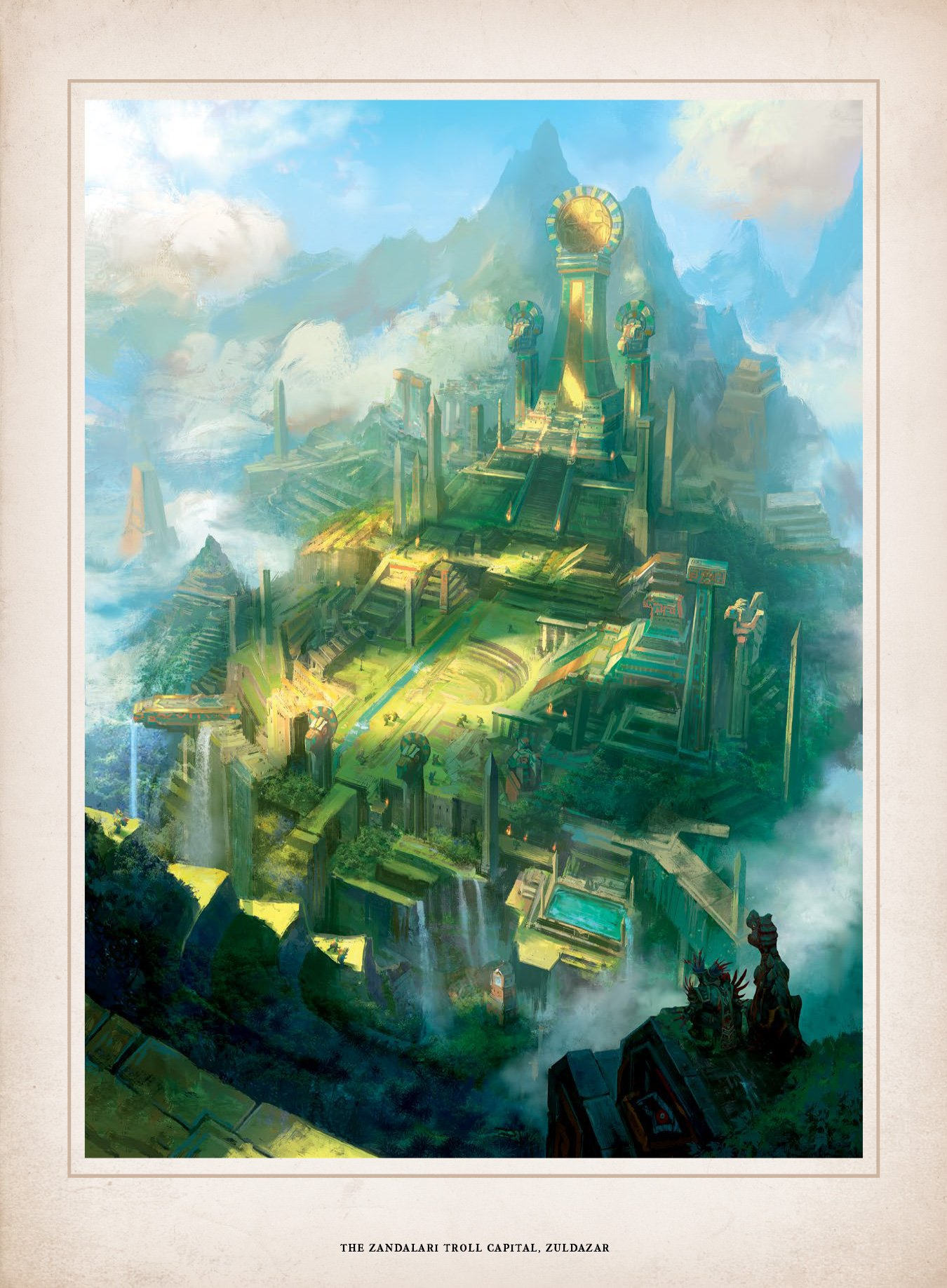 world of warcraft chronicle vol 1 preview the story of lei shen