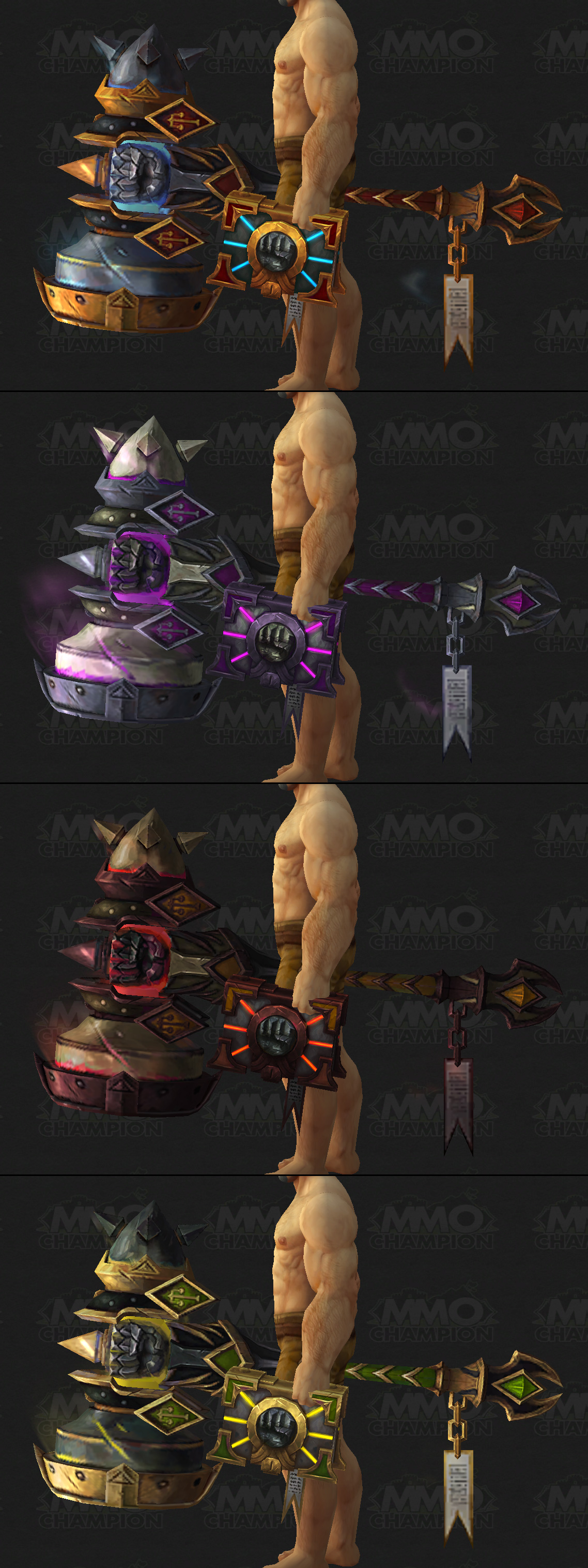 how to change artifact weapon paladin