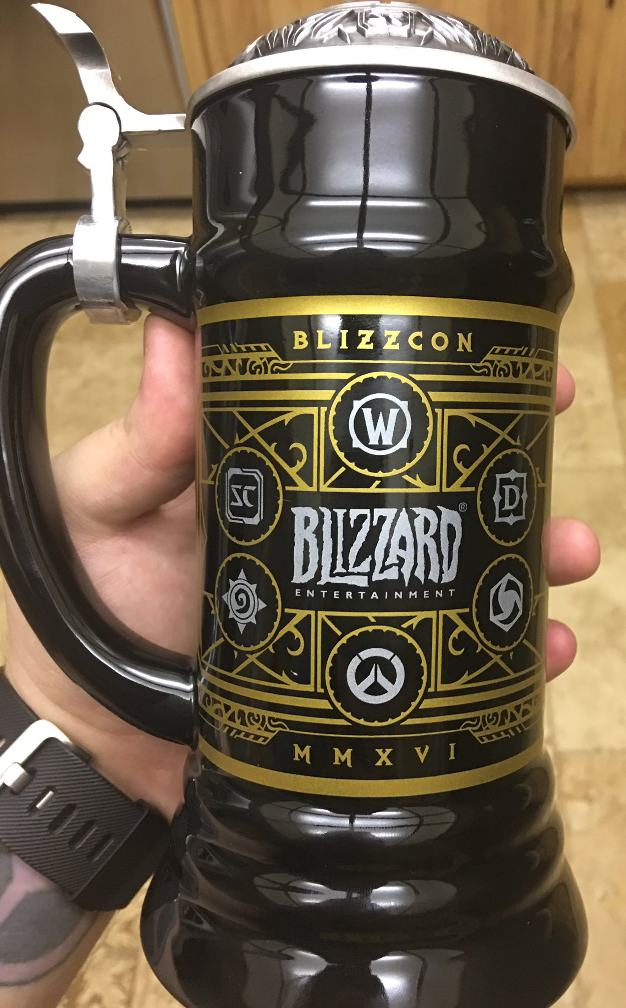 how to get blizzcon goody bag