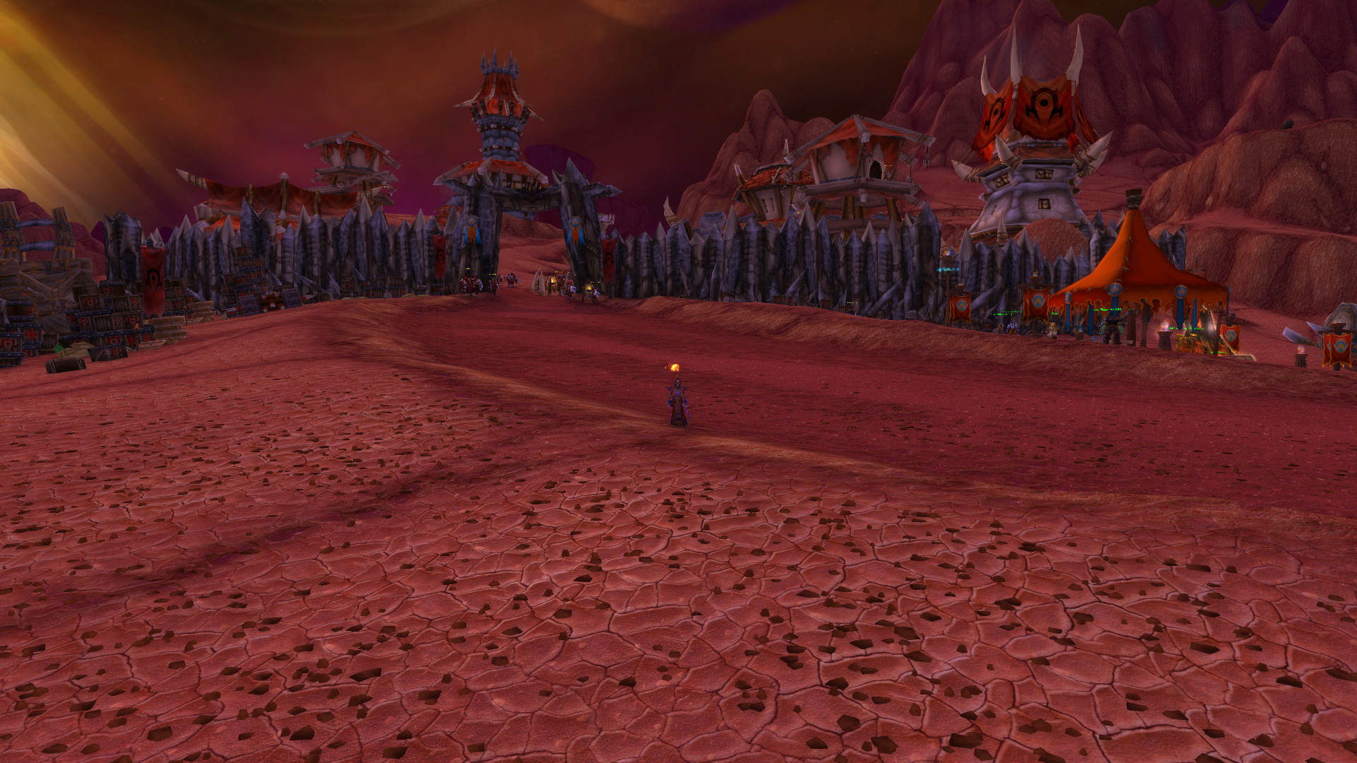 how to get to hellfire peninsula from orgrimmar 2017