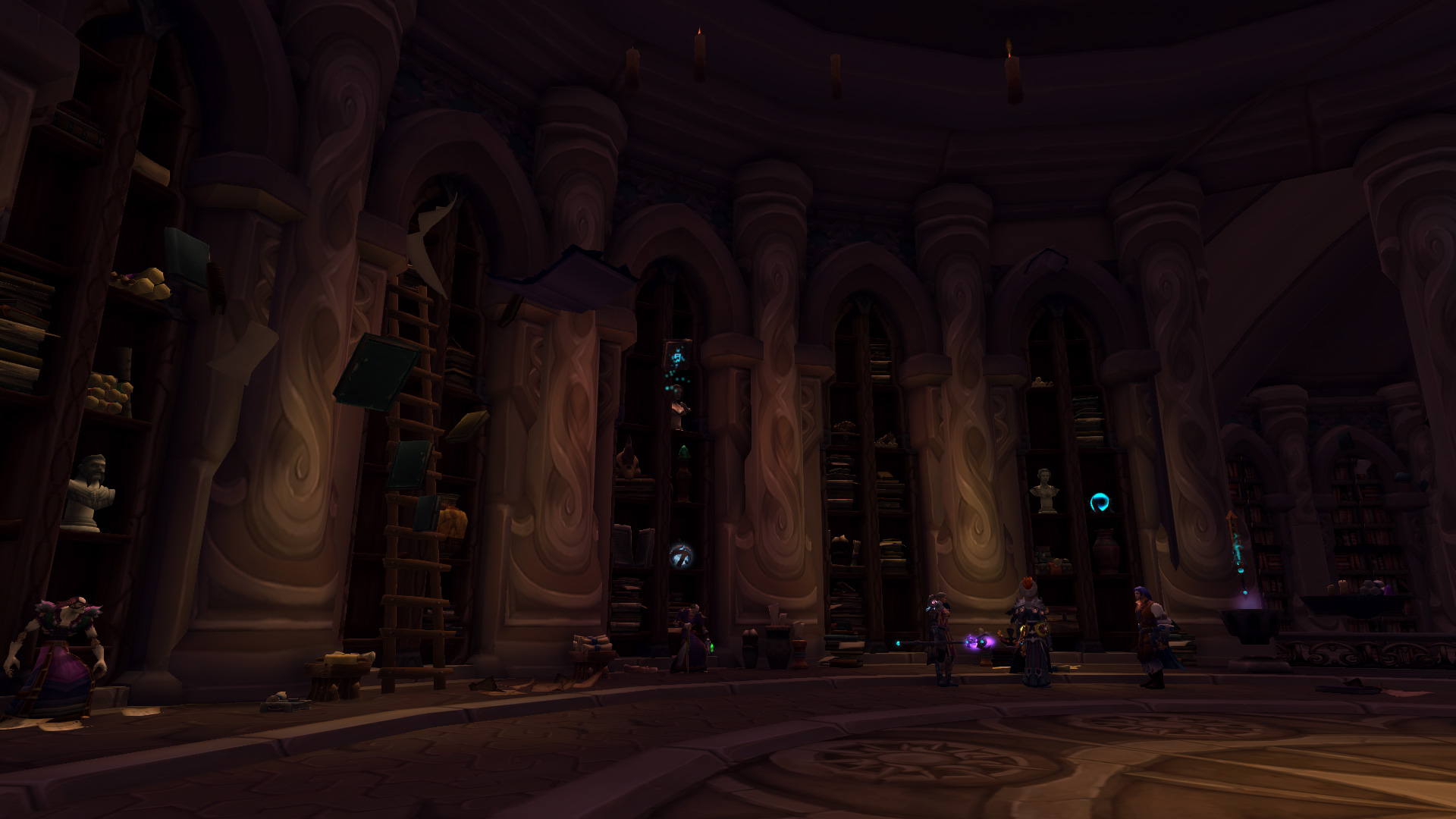 how to get to the mage class hall