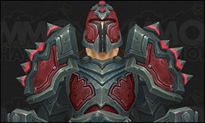 Warrior Legion PvP Season 5 Horde Armor Set