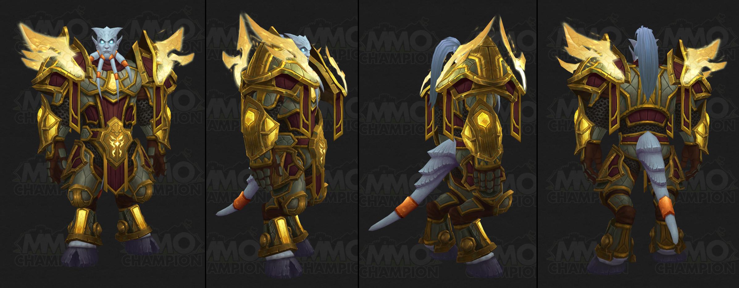 Heritage Armor Hotfix, Wipefest, Warcraft III Event, NA and