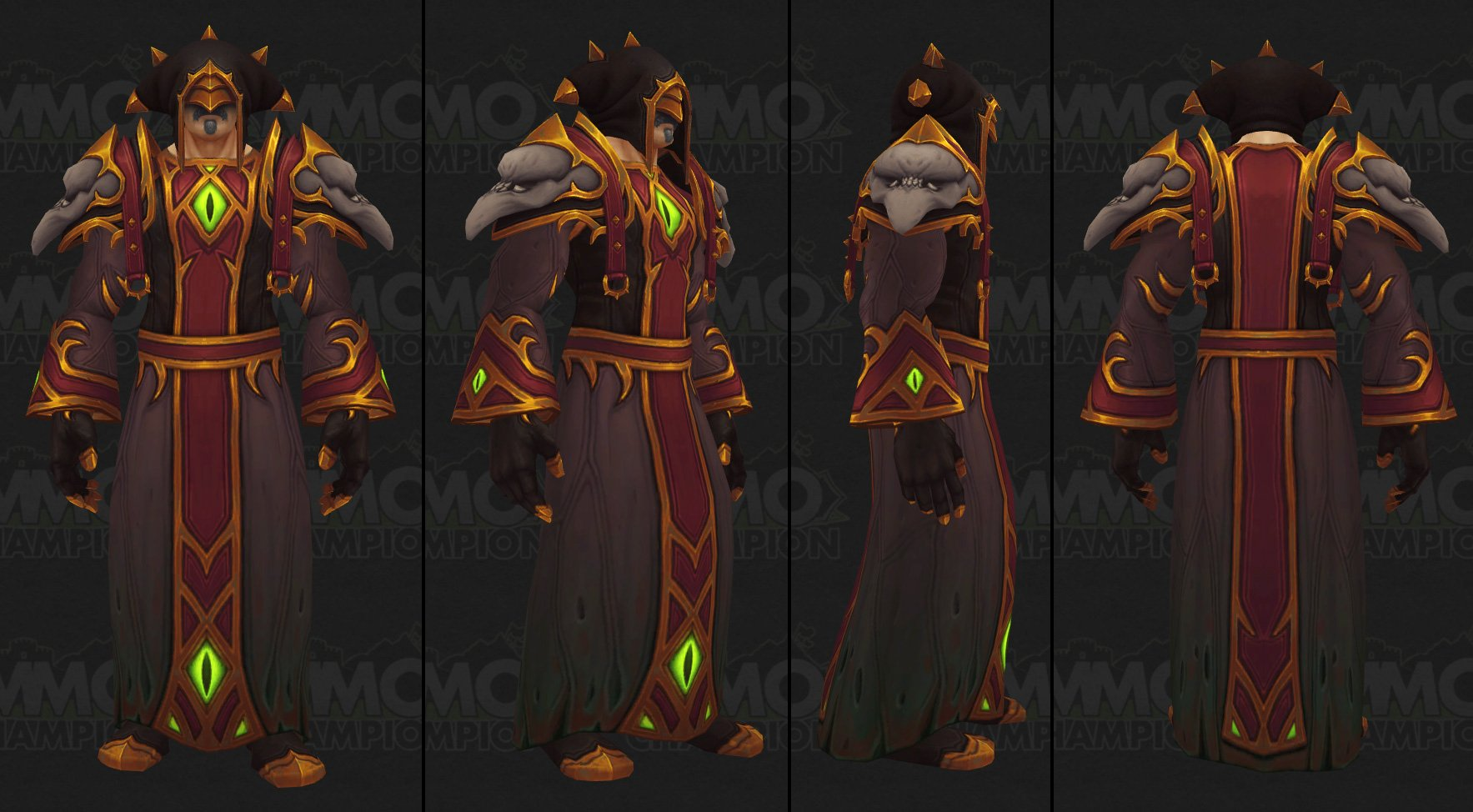 Patch 7.2 - Dungeon Set Models, Transmog Set Tab, Build of the Month ...