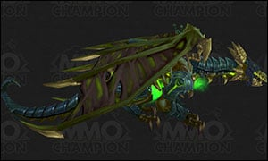 Death Knight Class Mount Green