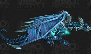 Death Knight Class Mount Blue
