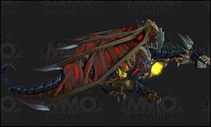 Death Knight Class Mount Red
