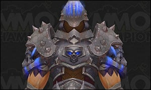 Death Knight Tier 20 Armor Set Blue