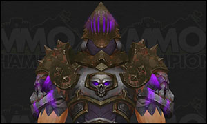 Death Knight Tier 20 Armor Set Purple