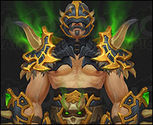 Demon Hunter Tier 20 Armor Set Gold