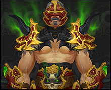 Demon Hunter Tier 20 Armor Set Horde