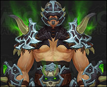 Demon Hunter Tier 20 Armor Set Silver