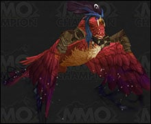 Druid Class Mount Red