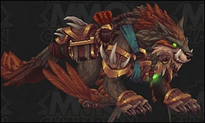 Hunter Class Mount Red