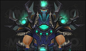 Shaman Tier 20 Armor Set Green
