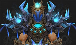 Shaman Mythic Tier 20 Armor Set Blue