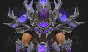 Shaman Tier 20 Armor Set Purple