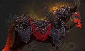 Warlock Class Mount Red