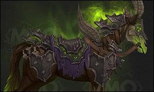 Warlock Class Mount Green