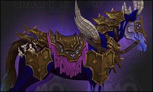 Warlock Class Mount Purple